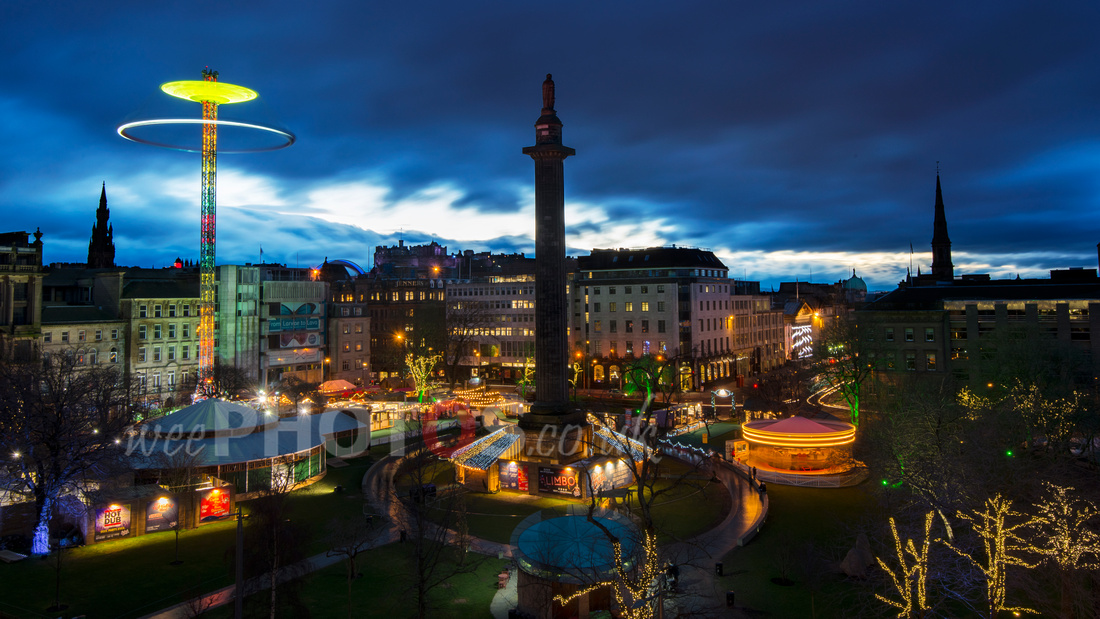 St Andrew Square at Christmas